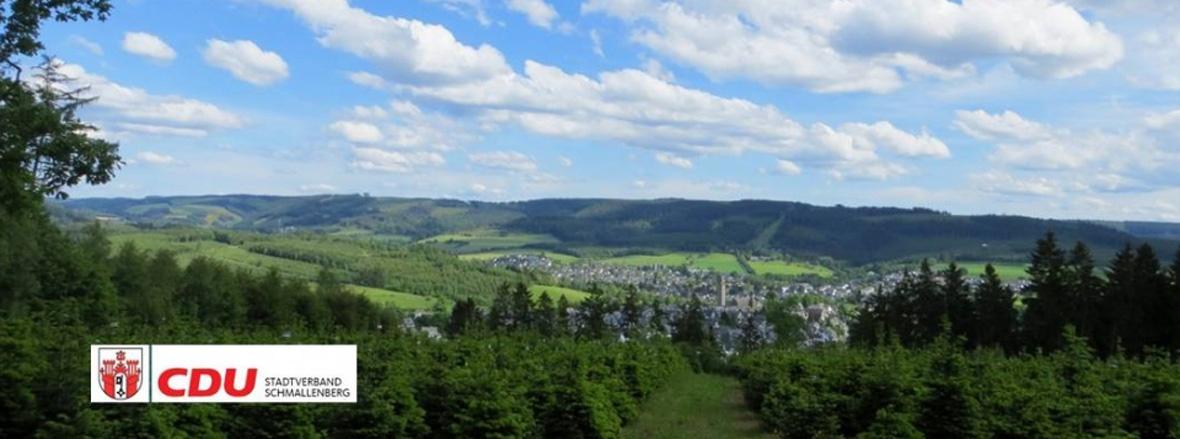 Stadtansicht Schmallenberg