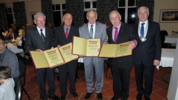 CDU-Stadtverband gratuliert den vier neuen Trägern des Ehrenringes der Stadt Schmallenberg