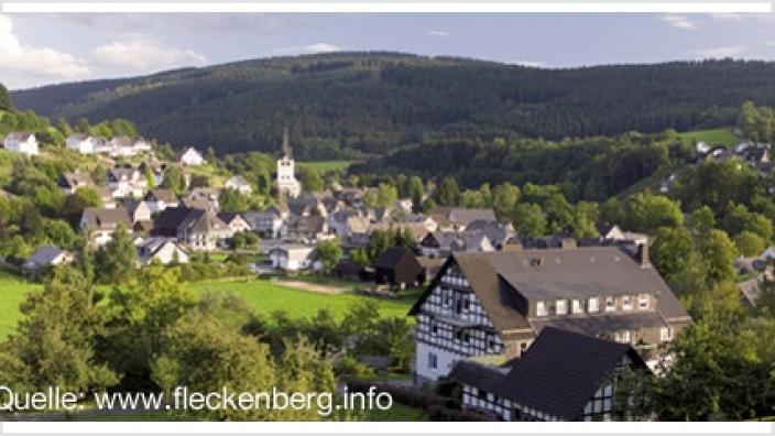 Fleckenberg Ortsansicht
